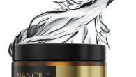 Jedwab w masce do włosów Nanoil